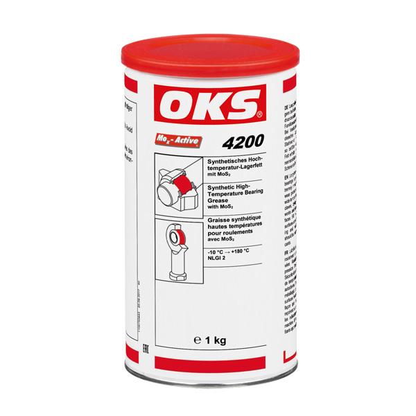 OKS 4200 - Unsoare sintetica  temperaturi inalte pentru lagare cu MoS2